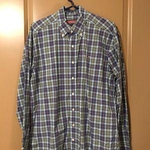 Vineyard Vines Button Down (Whale Shirt) Medium